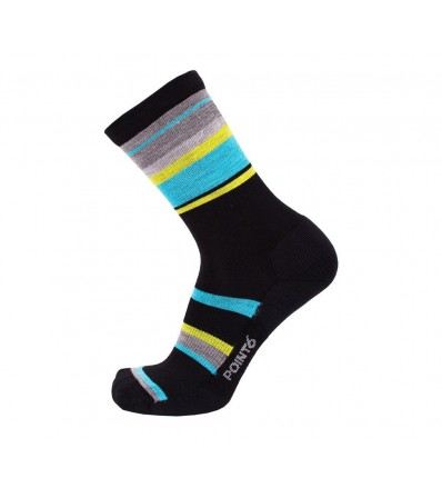 Point6 Active Life Band Light Crew Socks Winter 2019
