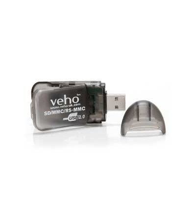VEHO Четец за карти VSD-001 SD USB Card Reader