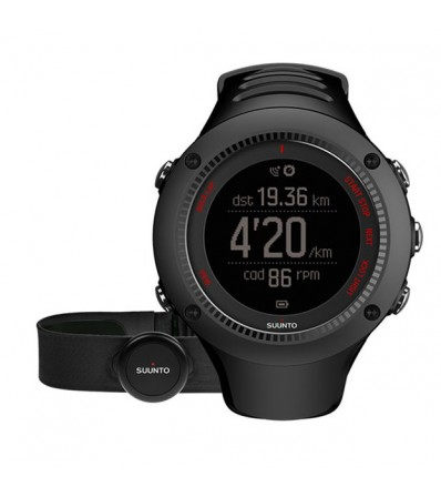 Suunto Часовник Ambit3 Run + Heart Rate Сензор