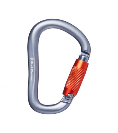 Black Diamond RockLock Twistlock Carabiner Winter 2021