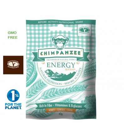 Chimpanzee Хранителен шейк Energy Quick Mix 42g
