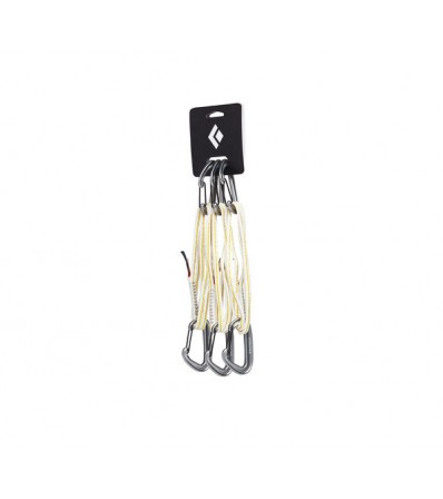 Black Diamond Miniwire Alpine Quickdraw 3 Pack 60CM Summer 2020