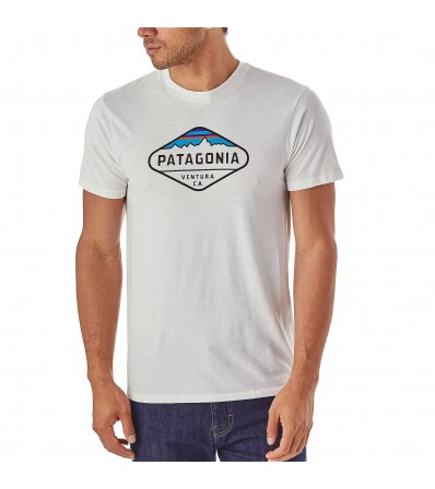 Patagonia Тениска M's Fitz Roy Crest Cotton/Poly T-Shirt Winter 2018