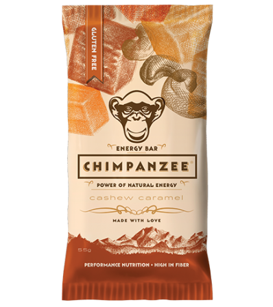 Chimpanzee Energy Bar Cashew & Caramel 55g