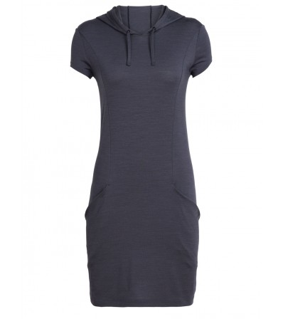 Icebreaker Мерино Рокля W's Yanni Hooded Dress Summer 2019