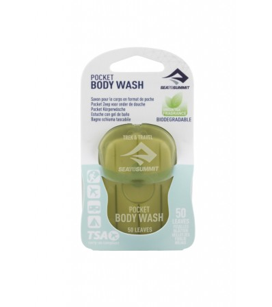 Сапун Sea to Summit Trek&Travel Body Wash Pocket Soap 50 Leaves Winter 2021
