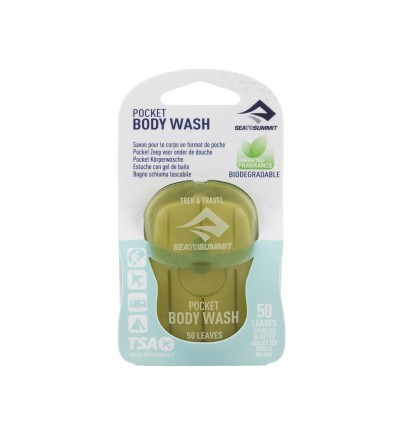 Pocket Soap Sea to Summit Trek&Travel Body Wash 50 Leaves Summer 2020