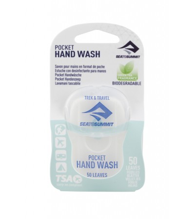 Сапун Sea to Summit Trek&Travel Pocket Hand Wash 50 Leaves Winter 2021