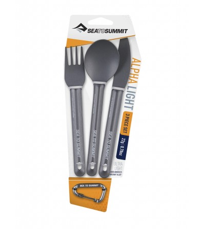 Sea to Summit AlphaLight Cutlery Set 3pcs Summer 2020
