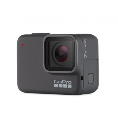 GoPro HERO7 Silver Action Camera + SD Card