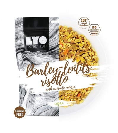 LYO Barley-lentills Risotto with Avocado mousse 500 g