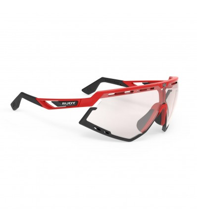Rudy Слънчеви очила Defender Fire Red Gloss - ImpactX Photochromic 2 Laser Red Lens Winter 2020