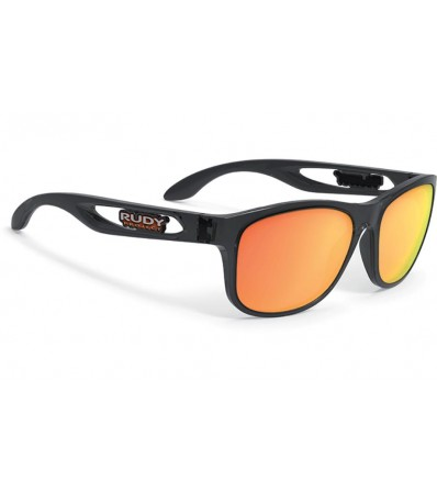 Rudy Слънчеви очила Groundcontrol Chrystal Graphite - Multilaser Orange Lens Winter 2020