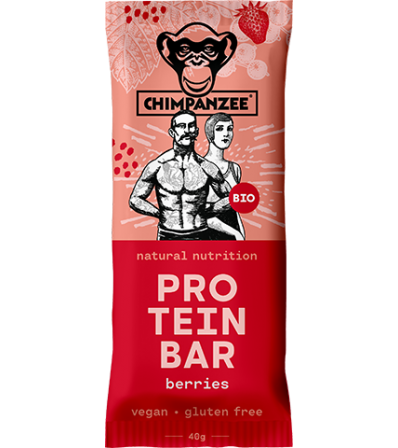 Chimpanzee Bio Protein Bar Berries 40g