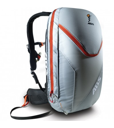ABS Комплект Гръб Vario Base Unit Grey Size S + Раница Vario Zip-On 18L Silver Orange