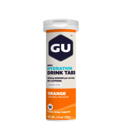 GU Hydration Drink Tabs Orange 55G
