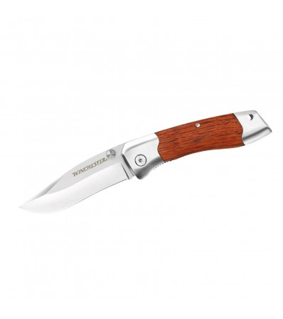 Winchester Нож Shaped Wood Folder Fine Edge