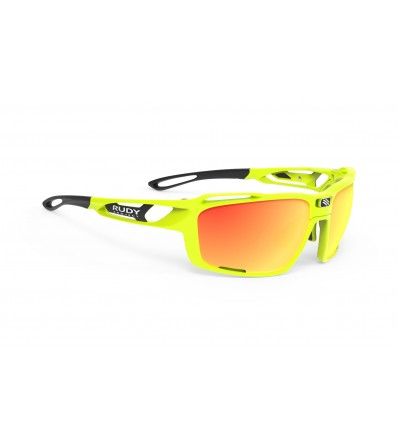 Rudy Sunglasses Sintryx Yellow Fluo Gloss - Polar 3FX HDR Multilaser Orange Lens Summer 2019