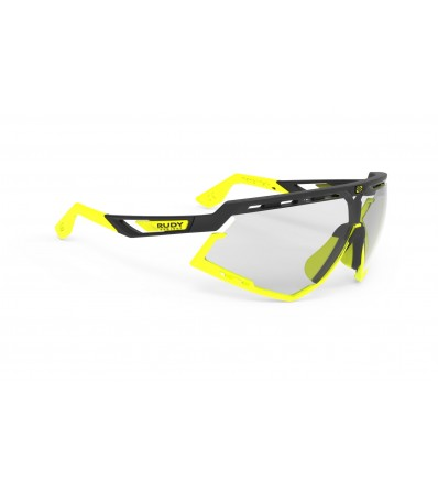 Rudy Слънчеви очила Defender Black Matte Yellow Fluo - ImpactX Photochromic 2 Laser Black Lens Summer 2019