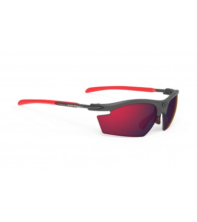 Rudy Sunglasses Rydon Graphite - Multilaser Red Lens Winter 2020