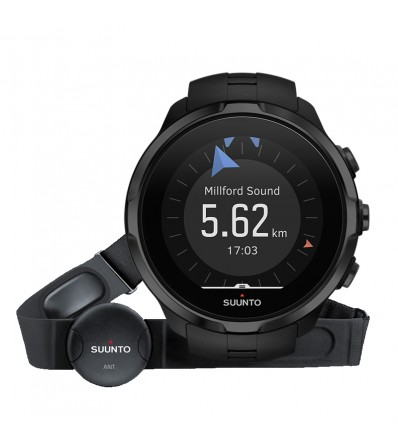 Suunto Часовник Spartan Sport Wrist HR All Black + Heart Rate Сензор